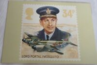 Royal Mail Post Card Lord Portal/ Mosquito The Royal Airforce PHQ 97 (e) 34p