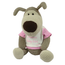 "Boofle Gorgeous Baby Girl Large 11"" Sitting Plush Toy New Baby Gifts"