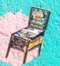 Royal Rumble Pinball Machine Enamel Pin