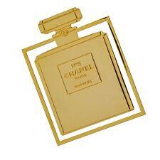 Vintage CHANEL No.5 Perfume Bottle Bookmark Parfum Bookplate Book Mark