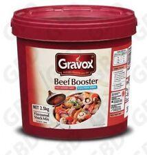 3x GRAVOX BOOSTER BEEF GLUTEN FREE 2.5KG