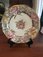 """Nippon """"Beautiful"""" Antique Handpainted Set Of 4 Dishes """"Rare"""""""