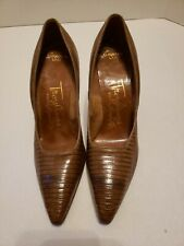 Vintage Troylings Brown Pumps Styled by Seymour Troy Empress Last Size 6 3A/5A