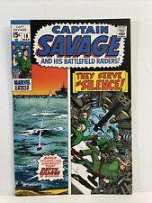 Captain Savage And His Battlefield Raiders #19 1970 War