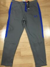 Under Armour Pants Youth XL Loose Heat Gear Gray And Blue NEW!!