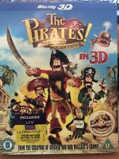 The Pirates Band of Misfits 3D Blu Ray