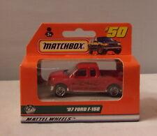MJ7 Matchbox - 1998 ROW 1-75 - MB50 - 1997 Ford F-150 - Red