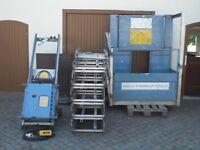 Bauaufzug GEDA 200 Z / 250 Z Combilift 20 m