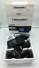 SiriusXm Onyx Ez Satellite Radio with Vehicle Kit - All accessories included