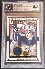 2002 titanium post season LaDainian Tomlinson Jersey bgs 8.5 156/435