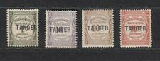 TANGER FRZ., 1918 Portomarken 8-11 */**, (28593)
