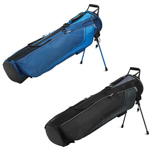 2021 Callaway Mens Carry+ Pencil Sunday Golf Bag Double Strap Mini Stand System