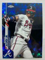 Ronald Acuna Jr. 2020 Topps Chrome Sapphire Edition #150 SP Atlanta Braves