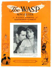 The Wasp News Letter, A Weekly Journal of Illustration & Comment, Nov. 2, 1929