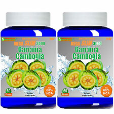 Garcinia Cambogia Extract MEGA SLIM 1000mg 100% HCA  DIET Weight Loss Calcium