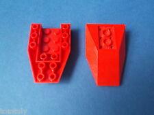Lego Star Wars   2 x  Schrägsteine negativ 6 x 4 auf 2 in rot 4856  K6