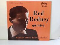 RED RODNEY - Modern Music from Chicago ~ FANTASY 208 {nm} [ojc-048] w/Roy Haynes