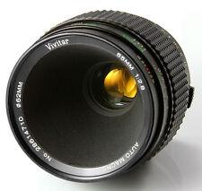 Vivitar 55mm f2.8 TRUE MACRO 1:1 Fixed/Prime For Canon Olympus Fujifilm Sony M43