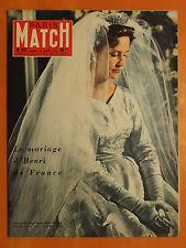 Paris Match 431 du 13/7/1957-Mariage Henri de France.La princesse Marie-Thérèse