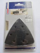 10 St Schleifpapier  Dreieck für Bosch  PMF 180 E , GOP 10,8V-LI Deltaschleifer