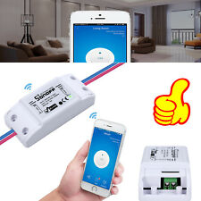 For Home DIY Phone APP WiFi Wireless Smart Switch Sonoff ITEAD ABS Shell Socket