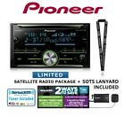 pioneer fh x730bs. pioneer fh-s701bs cd receiver w/ usb \u0026 bluetooth siriusxm sxv300v1 package fh x730bs