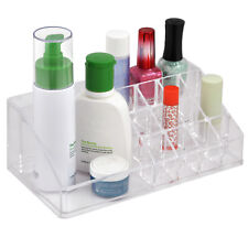 Clear Acrylic Makeup Cosmetic Lipstick Display Organizer Holder Stand Box Case