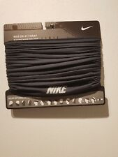 NIKE UNISEX ONE SIZE NECKWARMER BLACK SNOOD/SCARF - FREE & FAST DELIVERY