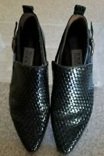 Retro Mens , Very nice Enzo Angiolini shoes, size 8M, side buckle slip on, dress