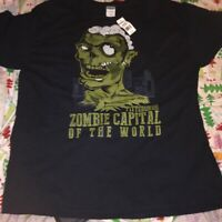 Pittsburgh Zombie Capital Of The World T-shirt (Size X-Large) New With Tags