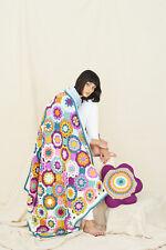 Crochet Pattern Stylecraft 9771 Playful Posy Blanket & Cushion special aran
