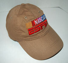 Chase Authentics NASCAR ESPN Light Brown Tan Baseball Cap Hat Youth Size 22""
