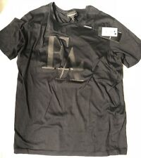 NWT $245 Emporio Armani FA Black Short Sleeve T-Shirt XL APH15
