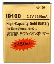 Battery for Samsung Galaxy S2 i9100 i9105 LTE Gold Replacement