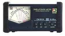 Daiwa Cn-501H 1.8-150 Mhz Cross-Needle Swr/Power Meter W/ So239s Free S/H Usa Dl