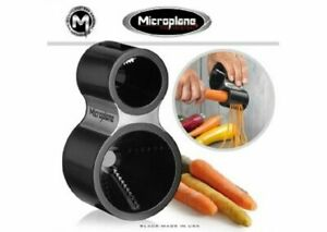 Microplane Stainless Steel Vegetable Spiral Cutter *New in Box Black*