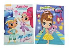 Littlest Pet Shop & Shimmer and Shine Kids Coloring Book Activity Books Set of 2