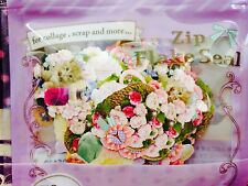Pretty Floral STICKER FLAKES 70 Pcs