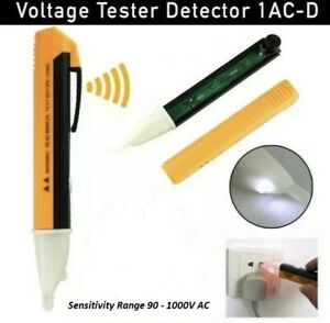 Voltage Tester Pen Non-Contact Electric Power Alert Detector Sensor 90-1000V