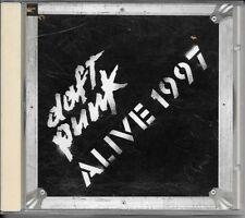 CD ALBUM LIVE--DAFT PUNK--ALIVE 1997