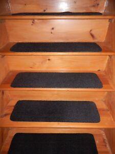 "4= Step 9"" X 30"" 100% FLEXIBLE Rubber Outdoor/ Indoor Stair Treads Non Slip"