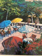 "Kerry Hallam: ""Sir La Terrace"" (1994) / Chalk & Vermilion Fine Arts Poster"