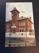Millville High School, Millville, New Jersey Postcard Circa 1905
