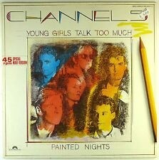 """12"""" Maxi - Channel 5  - Young Girls Talk Too Much - A3275 - washed & cleaned"""