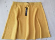 TAHARI Skater Skirt Yellow BNWT M