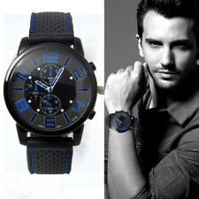Men's Fashion Watch Stainless Steel Sport Cool Quartz Analog Watch Wrist Watches