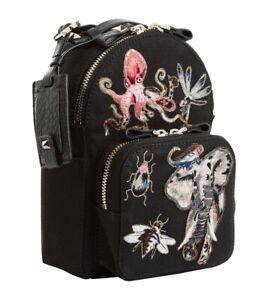 Valentino Fantastic Animals Rockstud Mini Backpack