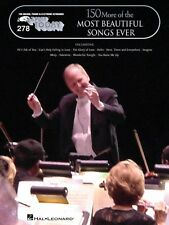 150 More of the Most Beautiful Songs Ever Sheet Music E-Z Play Today 000100227