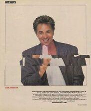Don Johnson Miami Vice Magazine Photo 1987