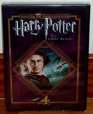 HARRY POTTER Y EL CALIZ DE FUEGO ED.COLECCIONISTA 2 DVD PRECINTADO NUEVO R2